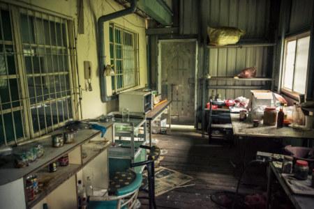 The kitchen at Spring grass gardens 春草園