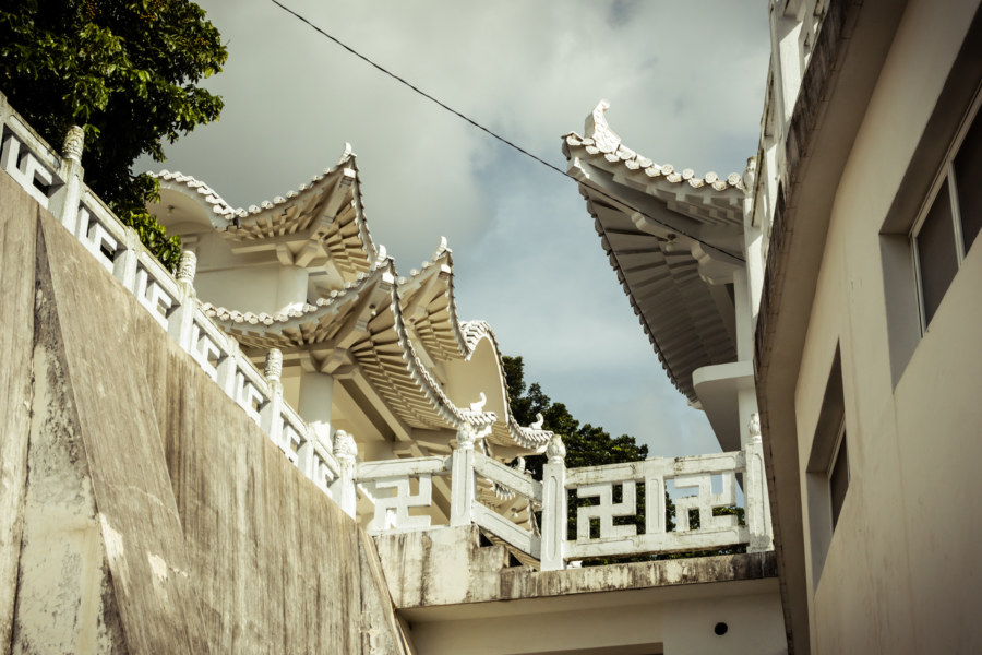 Putuoshan White Temple detail