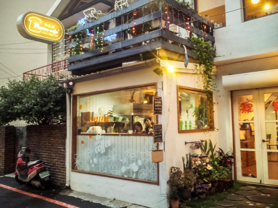 Panino cafe in Tainan