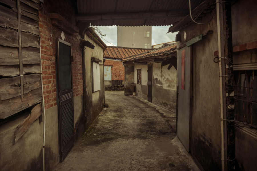 An old village in Wushantou 烏山頭