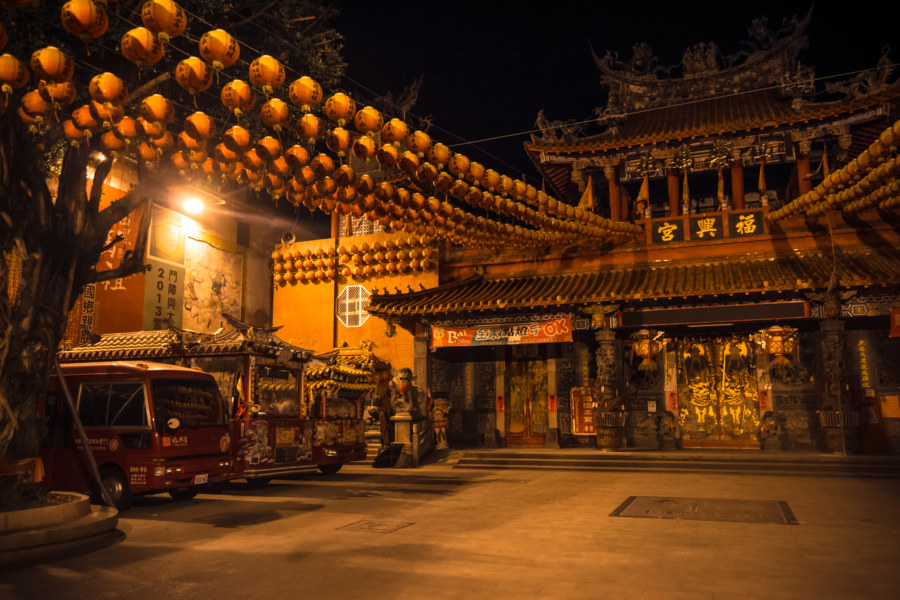 Fuxing temple 福興宮 in Xiluo 西螺