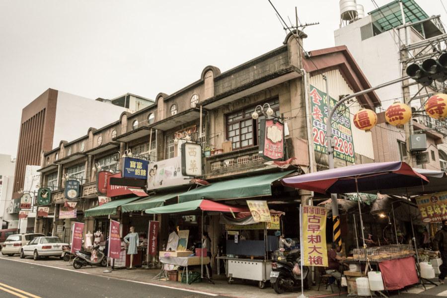 A newer block on Xinhua Old Street