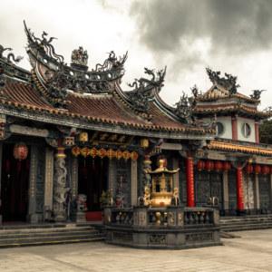 Huiji Temple on Zhishan