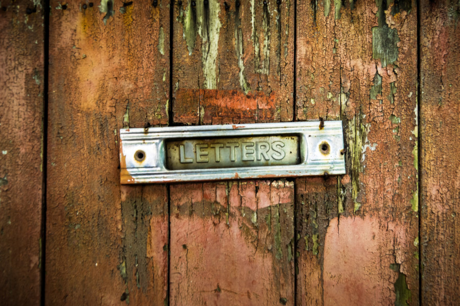 A letter slot that will open no more