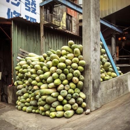 Winter melon storage