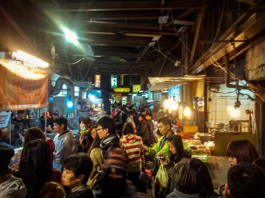 Winter solstice at Jingmei Night Market