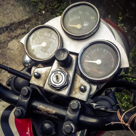 Motorcycle gauges