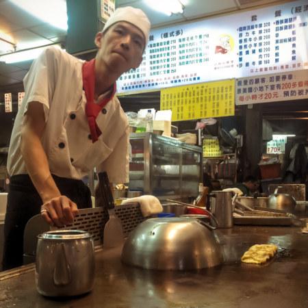 Teppanyaki at Jingmei night market