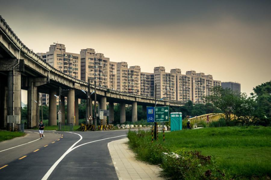 Wenshan riverside juncture