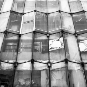 Irregular facade