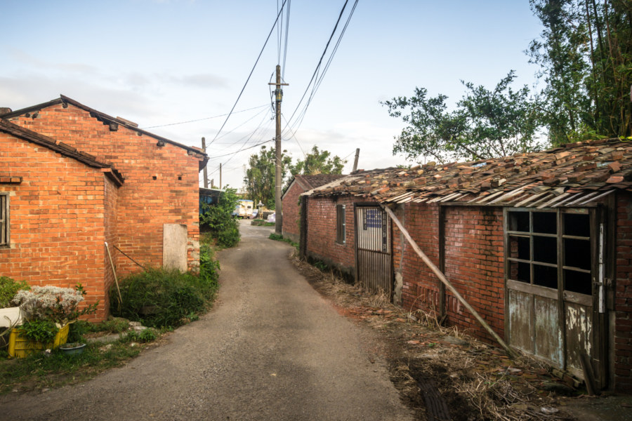 Old homes in rural Taoyuan