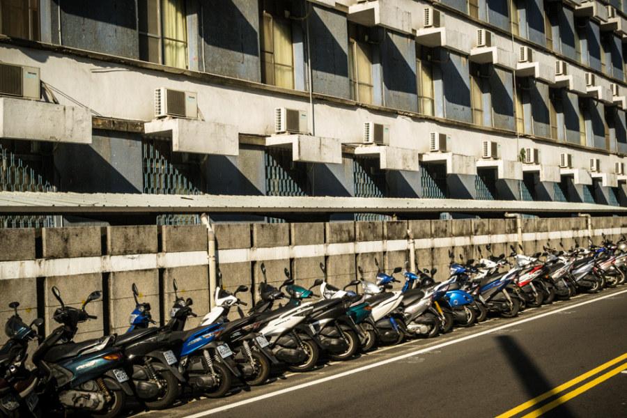 Zhongyuan University street scene