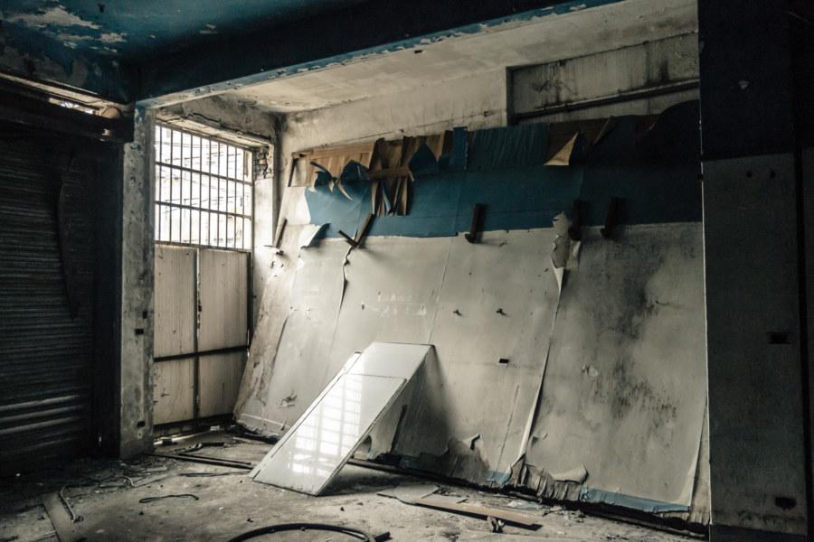 Last sight of the interior