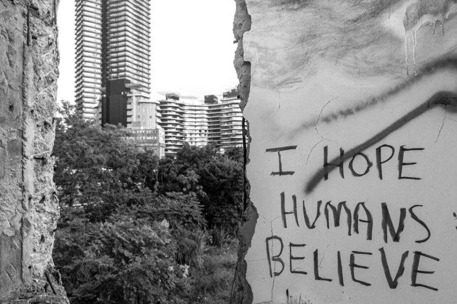 I hope humans believe