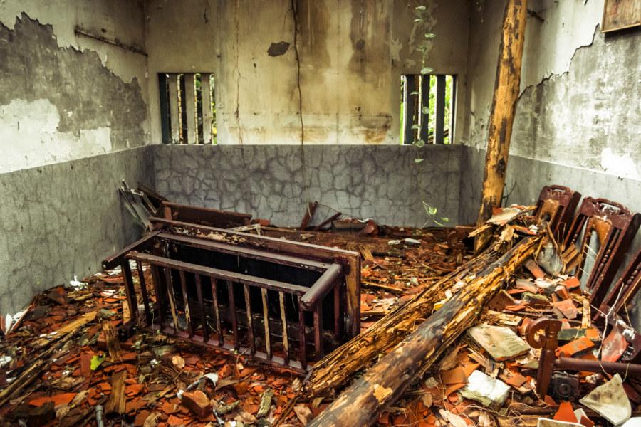 Fallen into disrepair