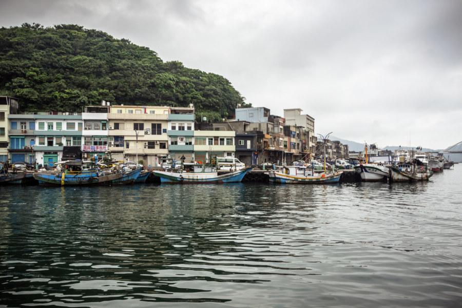Deeper inside Nanfangao harbour