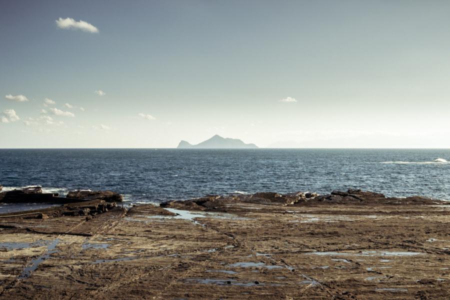 Turtle island from the coast of Yilan