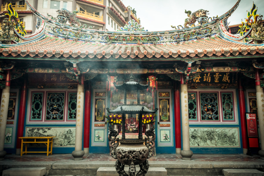 Beigang's famous Chaotian temple 朝天宮