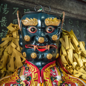 Chaotian temple 朝天宮 figure