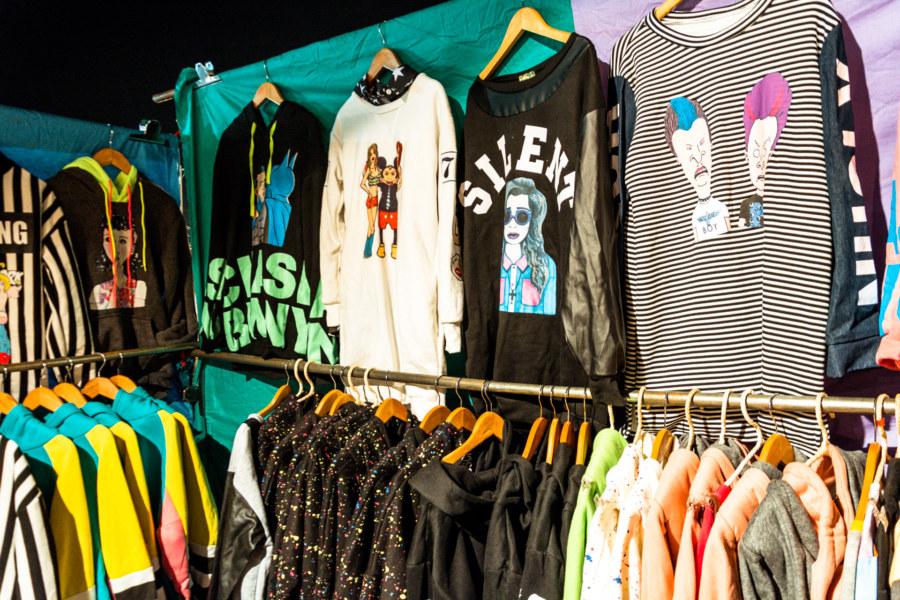 Hipster fashion at Douliu Renwen Park Night Market