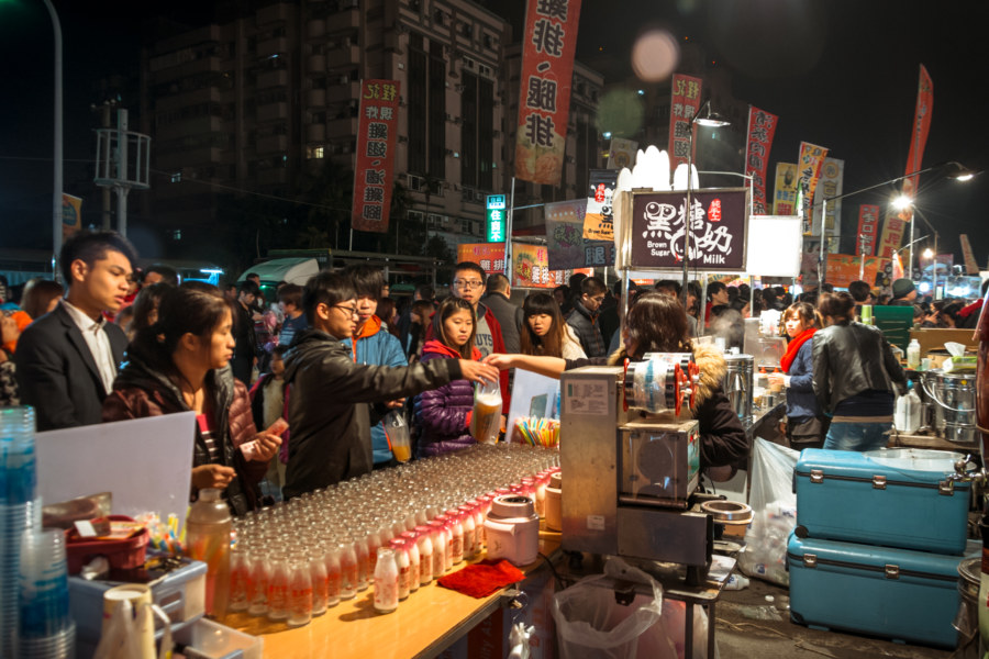 Signs of a successful business at Douliu Renwen Park Night Marke