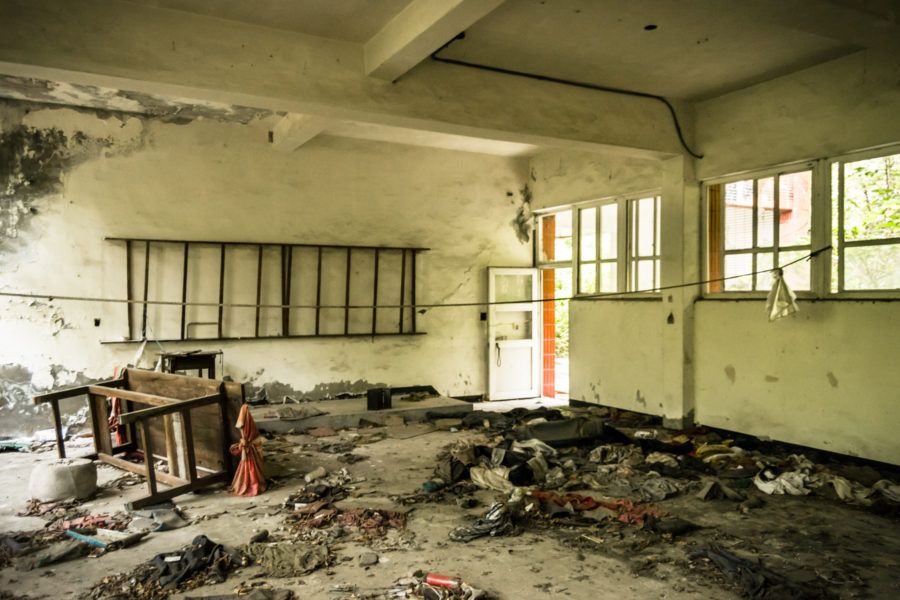 Inside the Ruins of Yixin Vocational School 益新工商職業