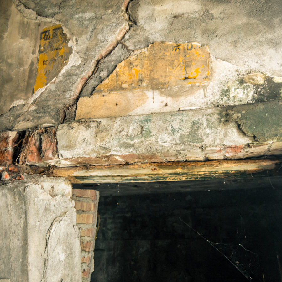 Remains of a Bomb Shelter at Xiluo Grand Theater 西螺大戲院