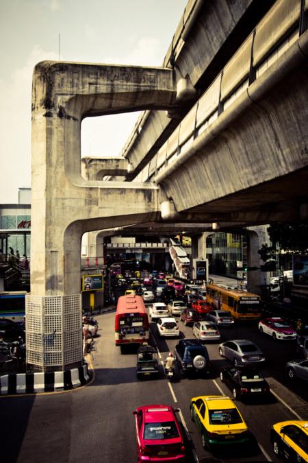 Sukhumvit Road Skytrain