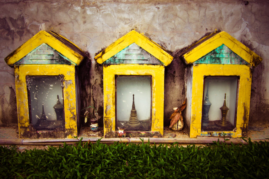Tiny houses for the spirits