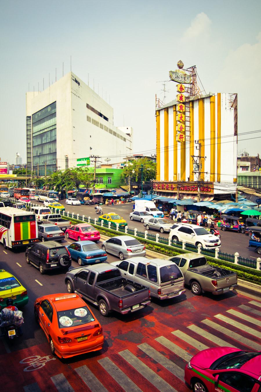 Thon Buri traffic