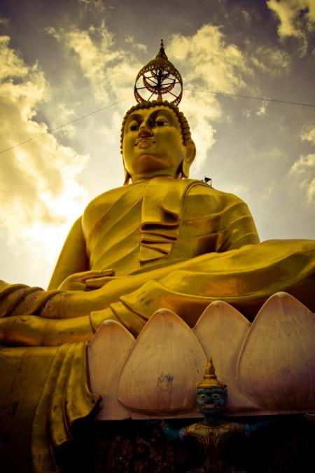 Mountaintop Buddha