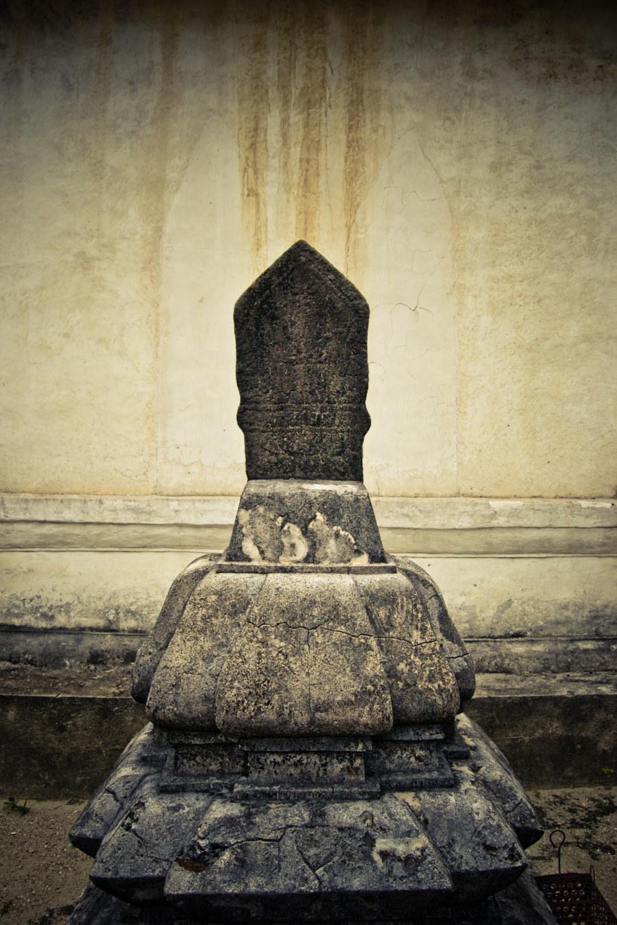 Stone monument on Koh Phangan