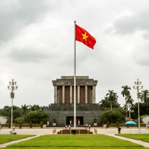 Ba Dinh Square and the Ho Chi Minh Mausoleum