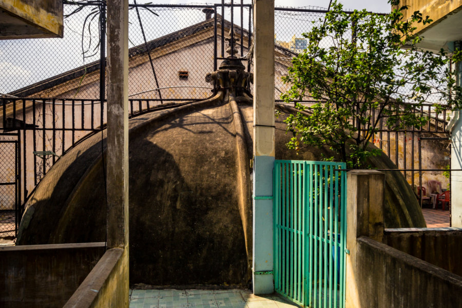 Hidden Dome at Dai Quang Theater, Cholon