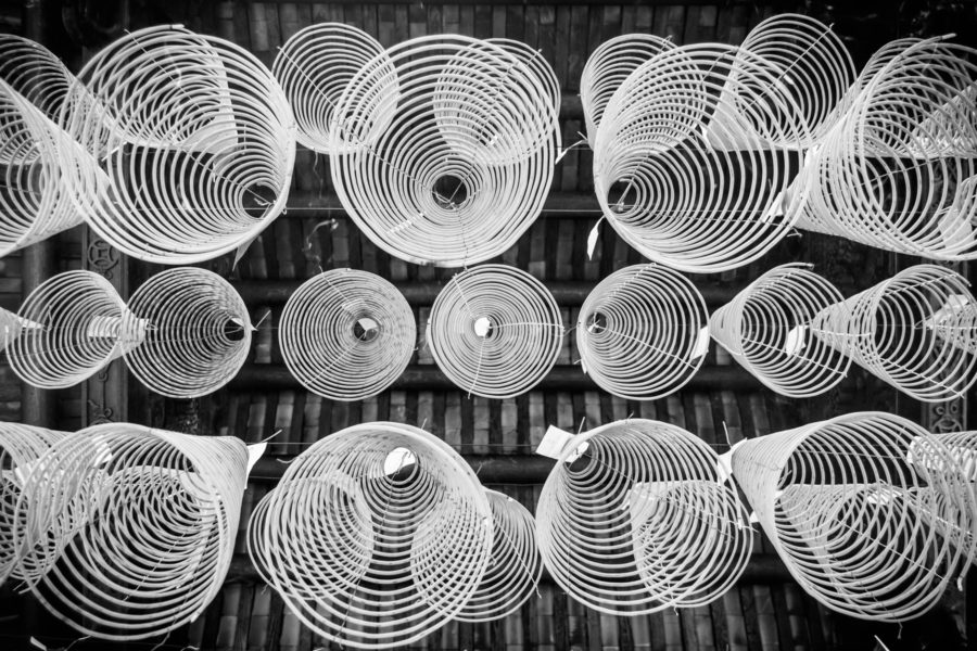 Incense Spirals at Thien Hau Temple